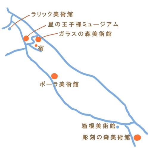 箱根観光 地図