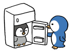 冷蔵庫の中身 引っ越し