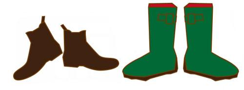 旅行 雨 靴