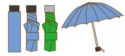 旅行 雨対策 傘